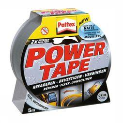 Pattex Power Tape 5m Grijs donker