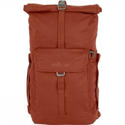 Millican Smith The Roll Pack 25L Rugzak Donkerrood