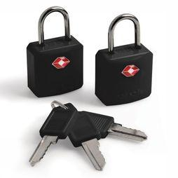 Pacsafe Prosafe 620 TSA Luggage Locks Reisslotjes Zwart