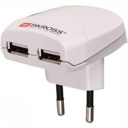 S-Kross Europa USB Lader Wit