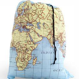 World Map Travel Size Waszak