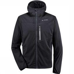 Vaude Durance Hooded Softshell Zwart