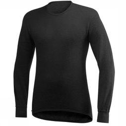 Woolpower Crewneck 200 Shirt  Zwart