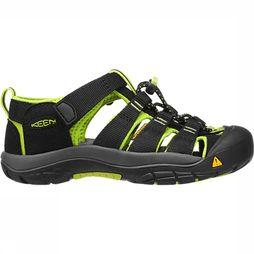 Keen Newport H2 Sandaal Junior Zwart/Lime
