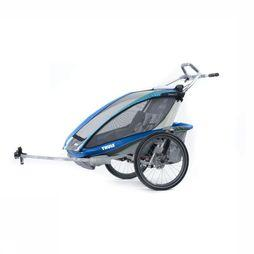 Thule Chariot Cx2 + Cycle Kit Blauw