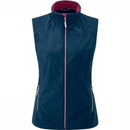 Maier Sports Juval Bodywarmer Dames Marineblauw