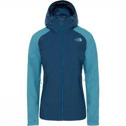 The North Face Stratos Jas Dames Petrol/Donkerblauw