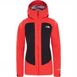 The North Face Impendor C-Knit Jas Dames Rood/Zwart