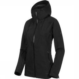Mammut Convey Tour HS Hooded Jas Dames Zwart