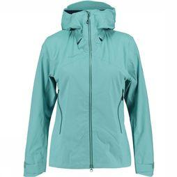 Mammut Kento HS Hooded Jas Dames Lichtblauw