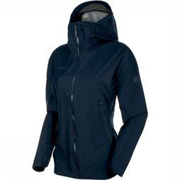 Mammut Masao Light Hooded Jas Dames Indigoblauw