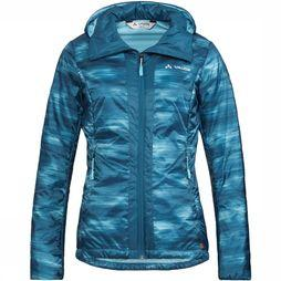 Vaude Freney Jacket IV Jas Dames Middenblauw/Lichtblauw