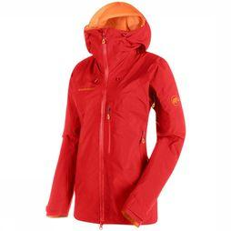 Mammut Nordwand Pro HS Hooded Jas Dames Lichtrood