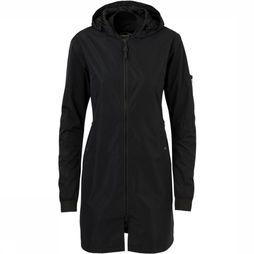 Agu Urban Outdoor Long Bomber Jas Dames Zwart