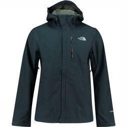 The North Face Dryzzle Jas Marineblauw/Middengrijs