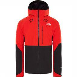 The North Face Apex Flex GTX 2.0 Jas Middenrood/Zwart