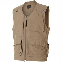 Royal Robbins Field Guide Vest Middenkaki/Donkerkaki