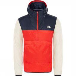 The North Face Fanorak Jas Rood/Blauw