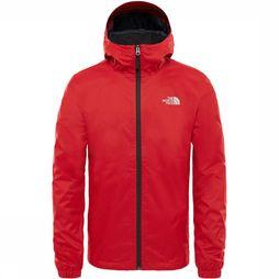 The North Face Quest Jas Middenrood/Zwart