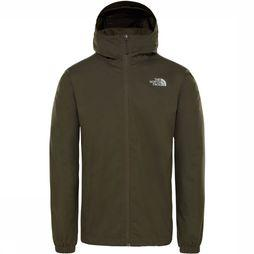 The North Face Quest Jas Middenkaki/Donkergrijs Mengeling