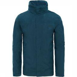 The North Face Sangro Jas Heren Blauw / Blauw