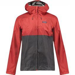 Patagonia Torrentshell Jas Donkerrood/Middenrood
