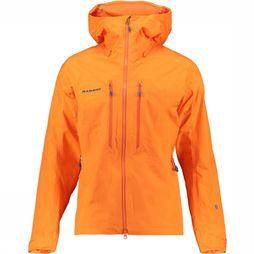 Mammut Nordwand Advanced HS Hooded Jas Oranje