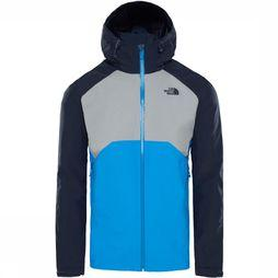 The North Face Stratos Jas Blauw/Middengrijs