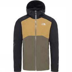 The North Face Stratos Jas Taupe/Zwart
