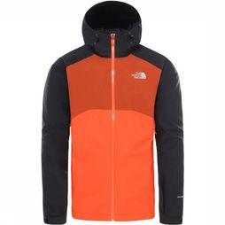 The North Face Stratos Jas Zwart/Rood