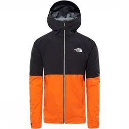 The North Face Impendor Shell Jas Oranje/Zwart