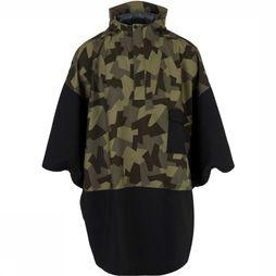 Agu Urban Outdoor Poncho 2,5L Zwart/Assortiment Camouflage