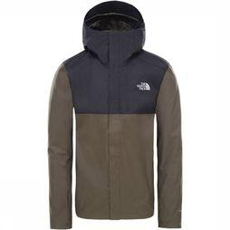 The North Face Quest Zip-In-Jas Taupe/Zwart
