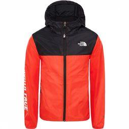 The North Face Reactor Wind Jas Junior Donkerrood
