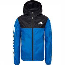 The North Face Reactor Wind Jas Junior Middenblauw/Donkerblauw