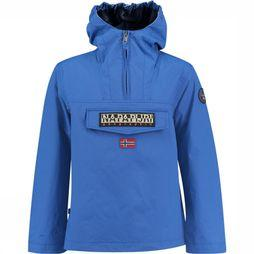 Napapijri Rainforest Summer Jas Junior Blauw