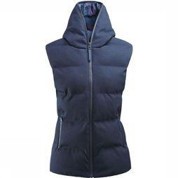 Eider Twin Peaks District Bodywarmer Dames Donkerblauw