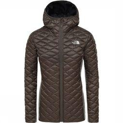 The North Face Hybride wollen Inlux Jas voor dames Taupe