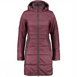 Icebreaker Stratus X 3/4 180 Hooded Jas Dames Middenrood