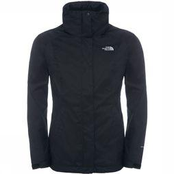 The North Face Evolve II Triclimate Jas Dames Zwart/Donkergrijs
