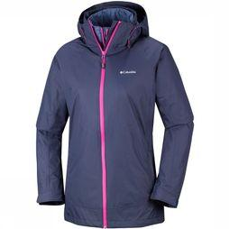 Columbia On Trail 3-in-1 Jas Dames Donkerblauw
