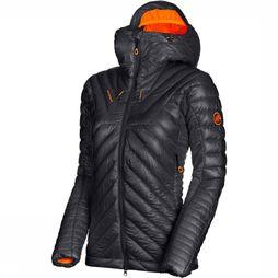 Mammut Eigerjoch Advanced In Hooded Jas Dames Zwart