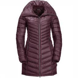 Jack Wolfskin Richmond Lange Jas Dames Bordeaux