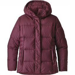 Patagonia Down With It Jas Dames Bordeaux
