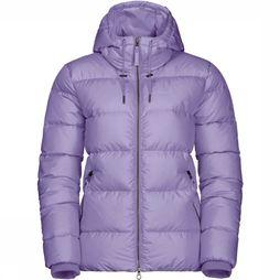 Jack Wolfskin Crystal Palace donsjas Dames Paars