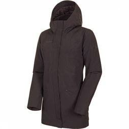 Mammut Chamuera HS Thermo Hooded Parka Dames Donkerbruin