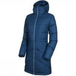 Mammut Fedoz IN Hooded Parka Dames Petrol