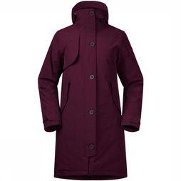 Bergans Oslo Down Parka Dames Bordeaux