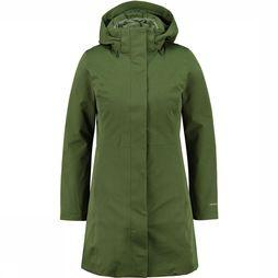 Patagonia Tres 3-In-1 Parka Dames Donkergroen