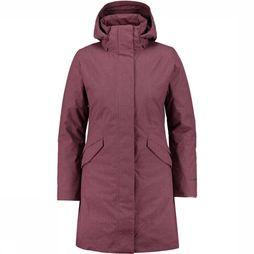 Patagonia Vosque 3-In-1 Parka Dames Zalmroze/Bordeaux